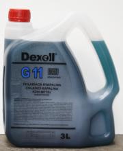 113 Dexoll Antifreeze G11-modrá 3L Dexoll