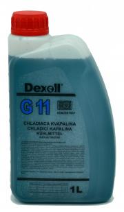 252070 Dexoll Antifreeze G11-modrá 1L Dexoll