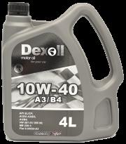 DEX10W40A34 Dexoll Olej 10W40 4L Dexoll