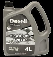 DEX15W404L M7ADSIII+ Turbo 15W40 4L Dexoll Dexoll