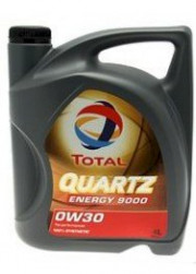 2151523 TOTAL 0W-30 QUARTZ ENERGY 9000 4L Total