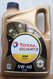 956019 Total QUARTZ 9000 5W-40 5L Energy Total