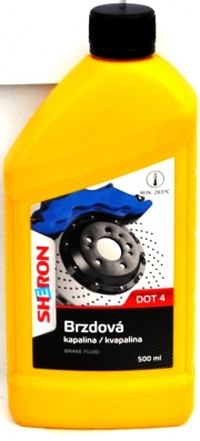 1111134 Sheron Brzdová kapalina DOT4 500ml SHERON