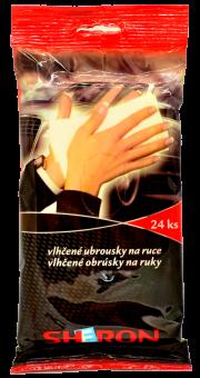 1720012 Sheron vlhčené ubrousky na ruce 24ks SHERON