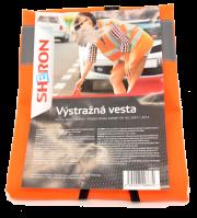 6000013 Sheron Výstražná vesta oranžová CZ/SK SHERON