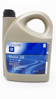 955973 Opel GM DEXOS2 MOTOROVÝ OLEJ 5W-30 5L GM
