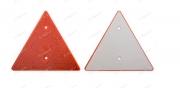 0V010311 Odrazka trojúhelník 2 díry Auto Petr