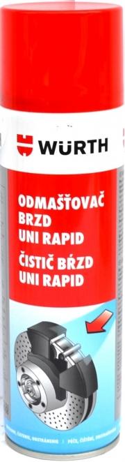 10890108 Wurth Čistič brzd 500 ml Auto Petr