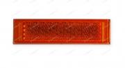 5W164 Odrazka oranžová samolepící obdelník Auto Petr