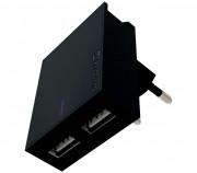 802345 Swissten cestovní adaptér USB-C Auto Petr